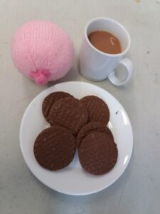 picture of tea and biscuits